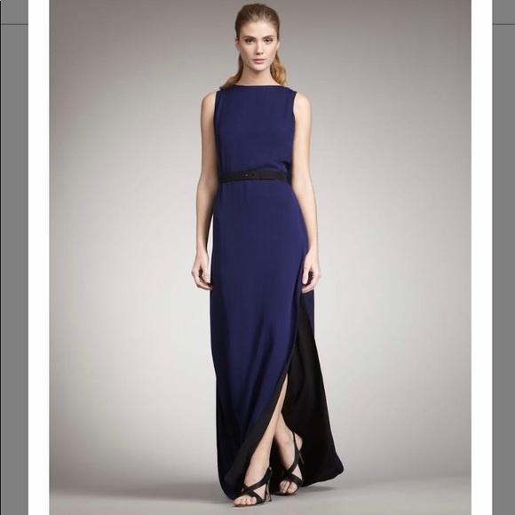 36d9df94b873 Halston Heritage Dresses | Silk Caped Colorblock Dress Nwt | Poshmark
